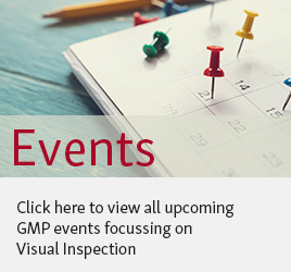 To the ECA Website's list of upcoming GMP events on visual inspection